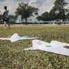QtPS Kite Design and Flying with Dad@ West Coast Park March 2015