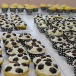 football cupcakes for the teachers
