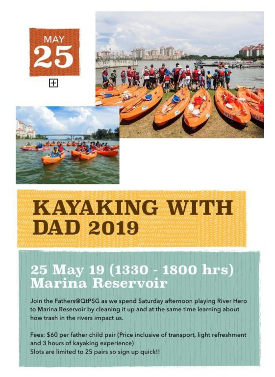 Kayaking with Dad 2019